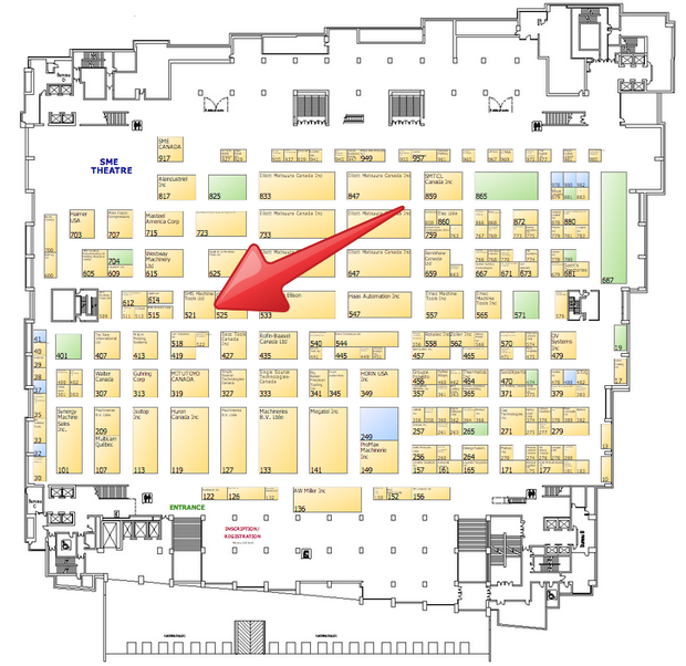 Floor Planning Tools In Asic: Montreal Manufacturing Technology Show 2014